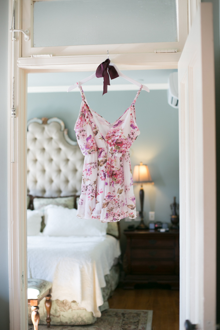 Boudoir Session At The Historic Boutique Campbell Hotel